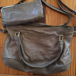Hobo purse with wallet